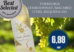 TORREORIA CHARDONNAY/MACABEO - UTIEL-REQUENA DO