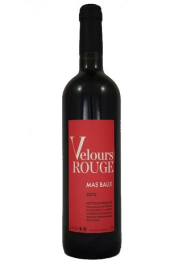 MAS BAUX Velours Rouge