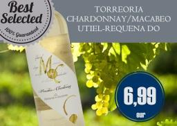 TORREORIA CHARDONNAY/MACABEO - UTIEL-REQUENA DO